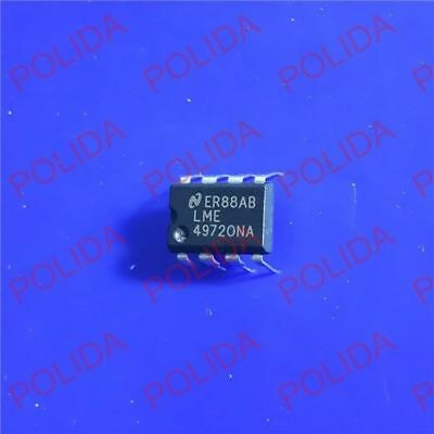 10PCS  Audio Operational Amplifier IC NSC DIP-8 LME49860NA LME49860NA//NOPB