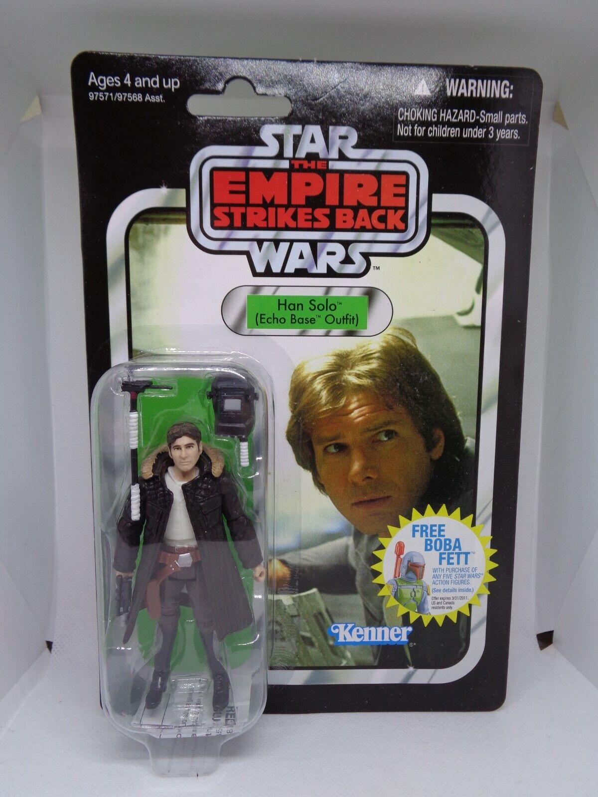 echo base nuevo//en el embalaje original Hasbro-Star Wars-Vintage Collection-han solo