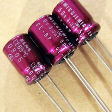 50pcs 3.3uF 50V Nichicon MA  50V3.3uF miniature electrolytic Capacitor 4X5mm