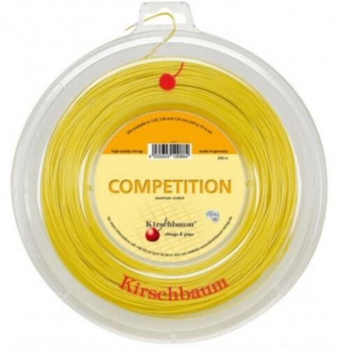 Tennis Kirschbaum Competition 1,30 mm 200 m Tennis Saiten Tennis Strings Weitere Ballsportarten