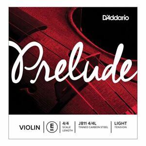 D'addario Prelude Violin String-simple E String-j811 échelle 4/4 Légère Tension-afficher Le Titre D'origine Limpide à Vue