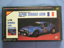 NEW Nichimo ALPINE RENAULT A310 1/24 Scale, Made in Japan, Motorized Model Car