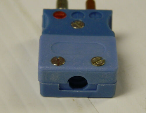 THERMOCOUPLE TECHNOLOGY THERMOCOUPLE SENSOR CONNECTOR 17001-T-1 MALE BLUE 5