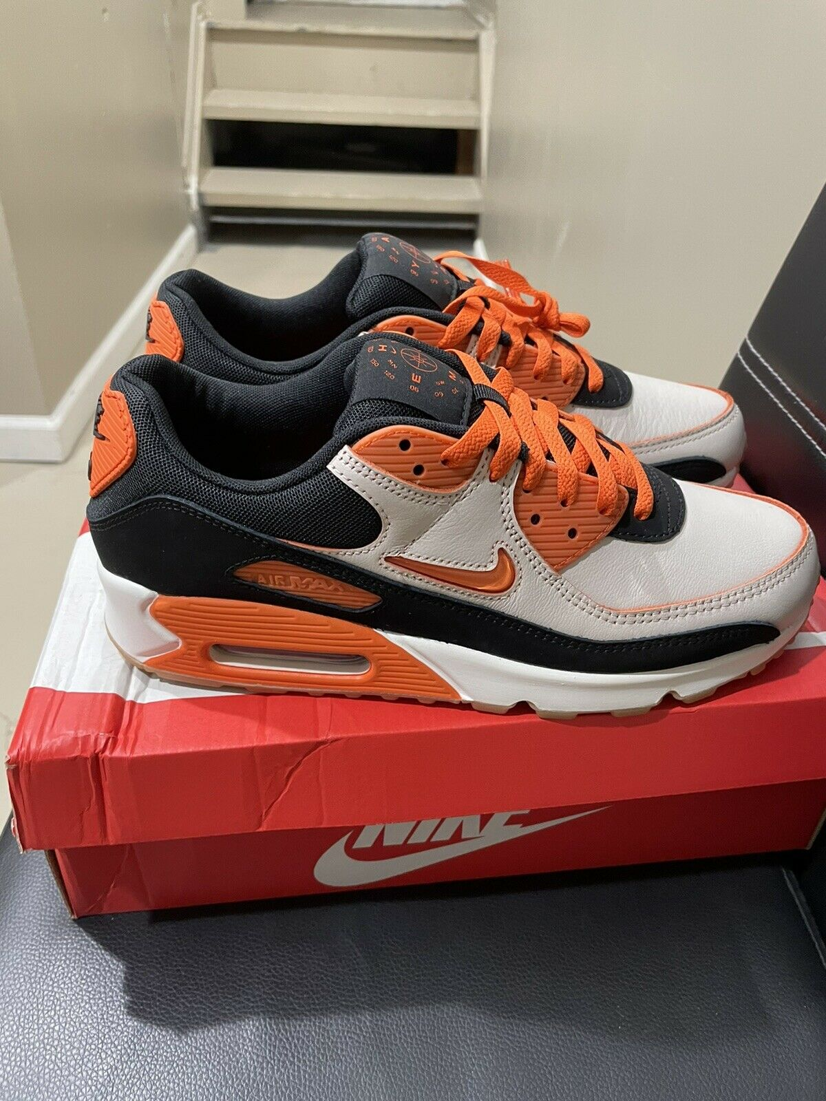 Size 9.5 - Nike Air Max 90 Home & Away - Safety Orange 2020 for ...