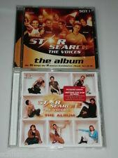 STAR SEARCH THE VOICES THE ALBUM 1 & 2  CD MIT MARTIN KESICI MICHAEL WURST ...
