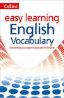 Easy Learning English Vocabulary by Collins Dictionaries (Paperback, 2015)
