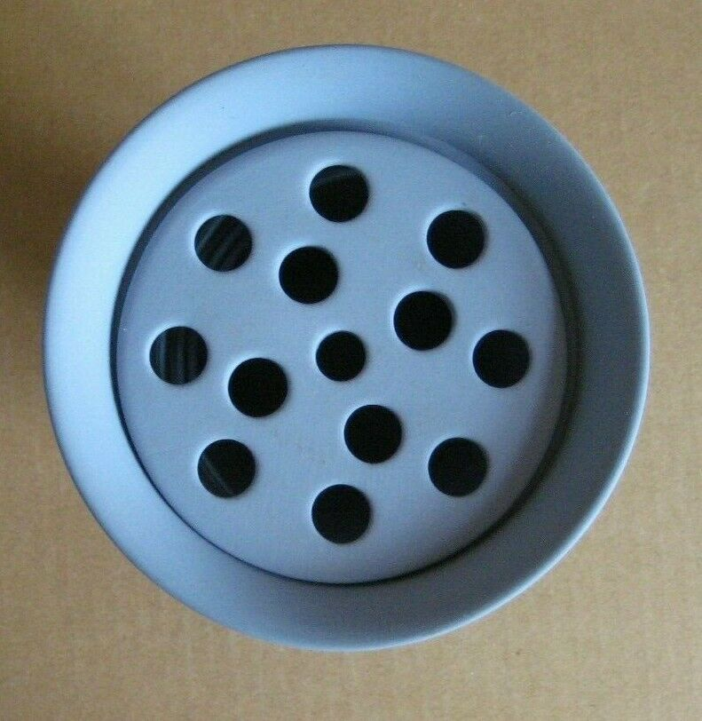 Image 4 - Wedgwood Jasperware Blue Flower Vase with Frogger