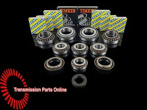 VAUXHALL M32 UPRATED O.E.M SNR GEARBOX REBUILD KIT 8 BEARINGS 25mm INPUT