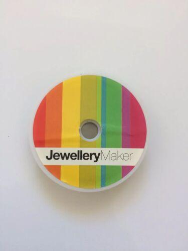 Fabricante de joyas fabricación de joyas alambre de plata 100m longitud 0.38mm