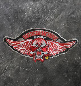 HELLS-ANGELS-Support-81-Patch-Aufnaeher-034-Totenkopf-mit-Fluegel-P15