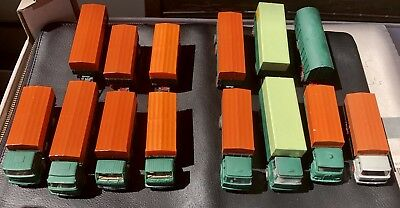 20 x klarsichtschachteln pour Wiking modèle voitures 25x28x65 mm klarsichtverpackung