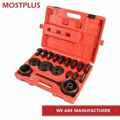 MOSTPLUS FWD Front Wheel Drive Bearing Adapters Puller Press Replacement Installer Removal Tool Kit-23 Pieces