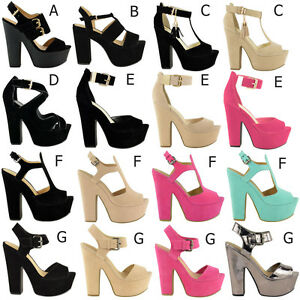 NEW-LADIES-WOMENS-BLOCK-CHUNKY-HIGH-HEEL-PLATFORM-SHOES-SANDALS-DEMI-WEDGES-SIZE