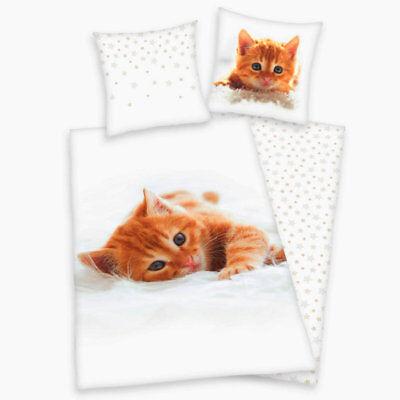 Aus Dem Ausland Importiert Süße Katzen Kinder Bettwäsche Von Herding 135x200 Bettwäsche 80x80 Geschenk Statt 29,95€