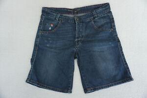 Marc-O-Polo-Mic-Herren-Sommer-Jeans-Hose-Short-Bermuda-stretch-used-W30-blau-73