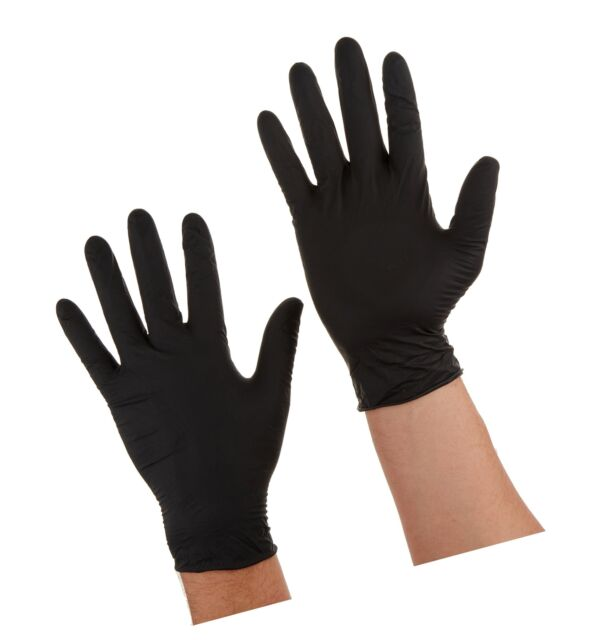 Large Safety Gloves Black Dragon Microflex BD-1003-PF