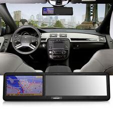 "4,3"" GPS Navigatore Retrovisore Retrocamera 8G AV-IN Bluetooth FM Musica Map EU"