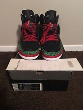 DS Air Jordan Spizike Black/red/green 2007 11 xi iii