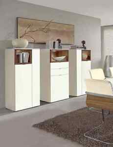 venjakob highboard andiamo kombination an01 lack wei matt. Black Bedroom Furniture Sets. Home Design Ideas
