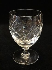 Edinburgh-Scotland-Crystal-Glass-Cognac-Brandy-Glass-4-1-3-034-Tall-x-2-1-2-034-Dia