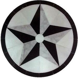 MARBLE FLOOR MEDALLION MOSAIC BLACK AND WHITE GRANITE 48 ...