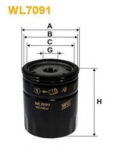 Wix-Filters-WL7091-Filtro-de-aceite-RC516857P-OE-Quality