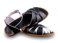 Ladies Adult Saltwater Sandal - Black
