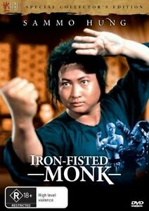 Iron-Fisted-Monk-DVD-2008-R-Rated-Foreign-Sammo-Hung-Terrific-Condition