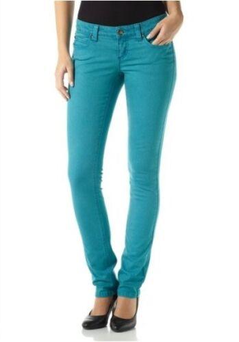 AJC Arizona Jeans NEU Kurz-Gr.17-21 Röhre Damen Hose Blau Stretch L30 Coloured