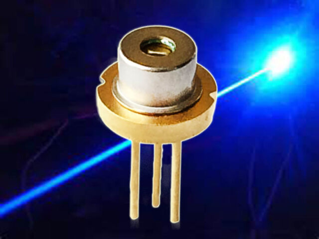 OSRAM PLTB450B 450nm 1.6W Blue Laser Diode 1 pcs