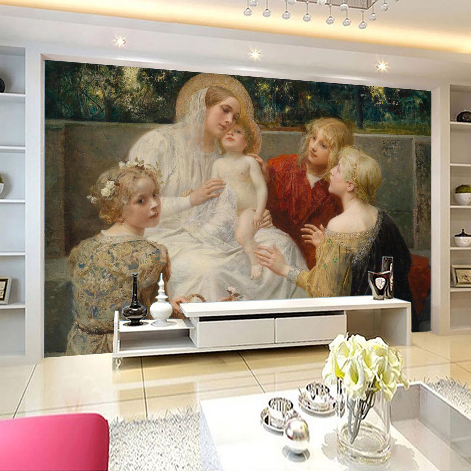 3D Pretty Lovely Kid 03 Paper Wall Print Wall Decal Wall Deco Indoor Murals