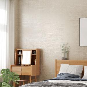 Modern Textured Wallpaper White Grey Decor Home Room Living Bedroom Paper Wall Ebay