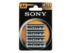 Sony Ultra R6 General Purpose Battery - Aa - Zinc Chloride - 1.5 V (sum3nub4a)