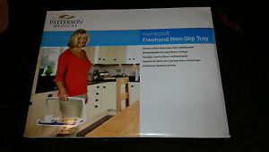 PATTERSON-MEDICAL-HOMECRAFT-FREEHAND-NON-SLIP-TRAY-IN-BOX-DISABLED-MOBILITY