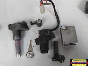KAWASAKI-1100-KZ1100-1100L1-LTD-IGNITION-SWITCH-GAS-CAP-STAND-SEAT-LOCK-SET