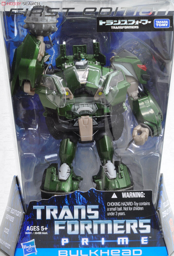Takara Transformers Prime First Edition Voyager Class BULKHEAD Brand New MISB