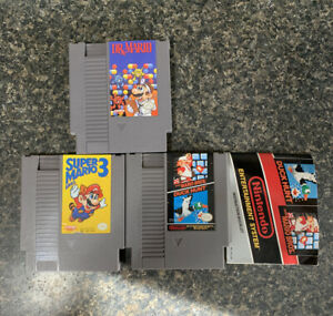 Nes-Mario-Game-Lot-Super-Mario-Bros-3-Drx-Mario-Mario-duck-Hunt