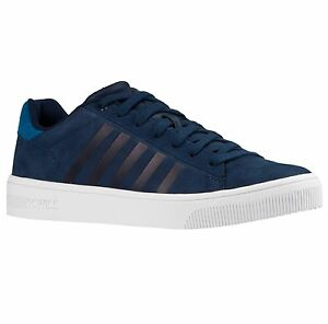 swiss Blue in da Court Scarpe Shoes Tennis pelle Fashion K Casual Frasco Sneakers ginnastica dwCCIP