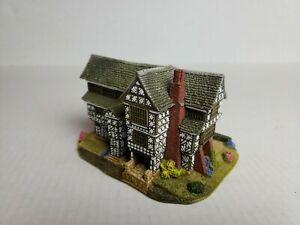 Lilliput-Lane-raro-034-Pequeno-Moreton-Hall-034-L3187-Box-encontrado-aniversario-Coleccion-L021