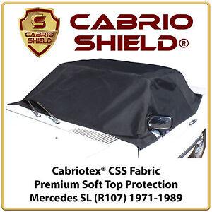 Mercedes SL 1971-1989 Car Hood Soft Top Cover Half Cover Premium Protection
