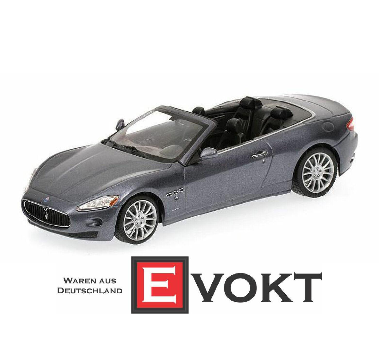 Campeón de miniatura 1    43 Maserati grancabrio - 2010 - gris Metal af4