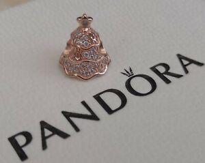 New Pandora Pave Christmas Tree Charm Rose Gold Plated Box Bag Rrp 70 Ebay