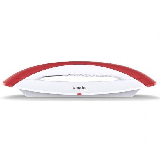 Telefono Fijo inalambrico sin cable Alcatel Smile Red de Sobremesa Diseño
