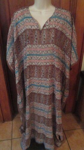 Anokhi Cotton Maxi Bohemian Hippie Dress Free Size
