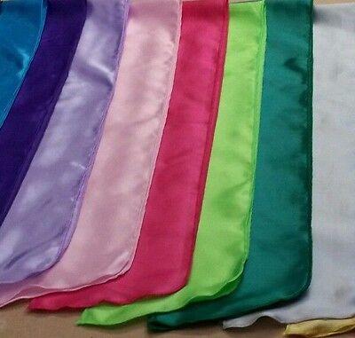 42 Elvis ETA Satin Tribut Schals 17 Farben Schal auf Lager Versand am selben Tag