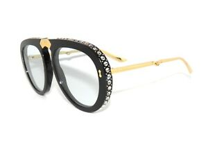 63f294ae4a Image is loading GUCCI-GG0307S-0307S-FOLDABLE-BLACK-LIGHT-BLUE-002-