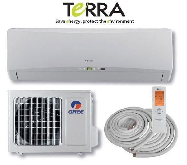 GREE TERRA 24000 BTU Mini Split Air Conditioner Heat Pump SEER 21 ENERGY  STAR