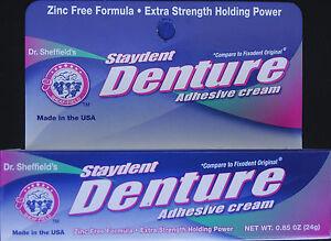 Staydent Denture Adhesive Cream Extra Strength Generic
