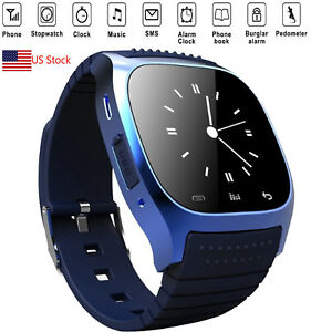 Smart Watch Bluetooth Sync Phone For Android Samsung S9 Plus