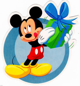 """3/""""-6/"""" Disney mickey mouse christmas heat transfer iron on character"""